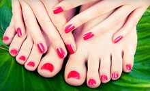 One or Three OPI GelColor Manicures or One OPI GelColor Mani-Pedi at Delia Georges (Up top 51% Off)