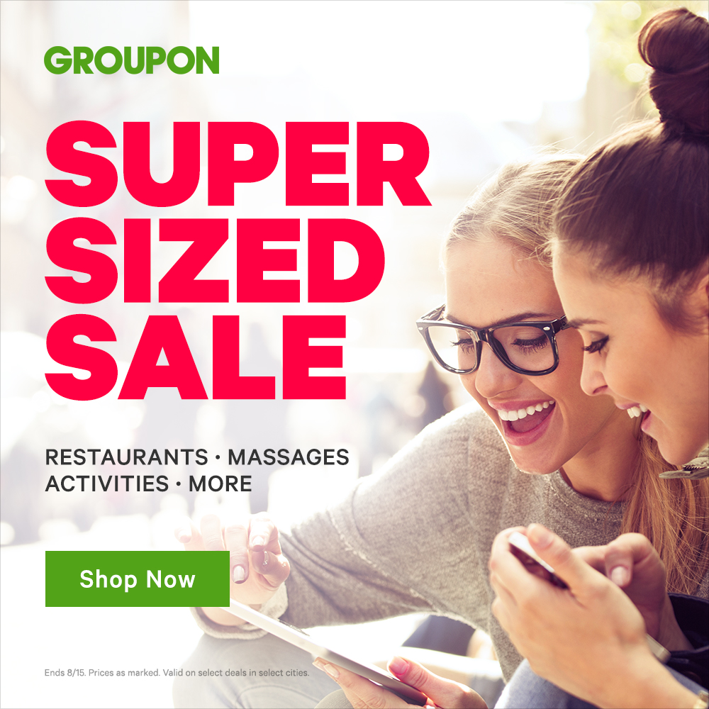8/14-8/15 Super Sized Sale