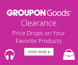 Groupon Goods Clearance 300x250