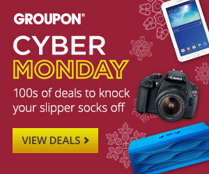 Groupon's Cyber Monday Event 12/1