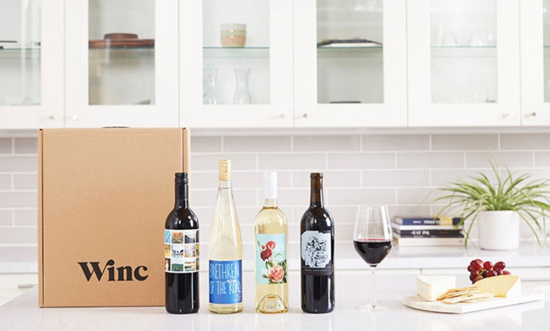 Four Bottles of Wine Customized to Your Palate with Shipping from Winc (56% Off)