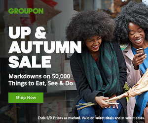 9/20: Up & Autumn Sale