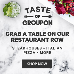 Month of April - Taste of Groupon