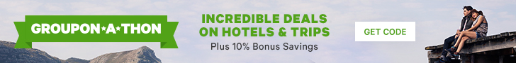 Up to 80% off Getaways