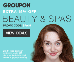 9/15-9/16 15% off one Local Beauty & Spas Deal with code SPA15