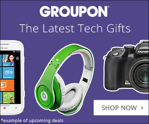 Groupon Holiday: Tech Gifts 300x250