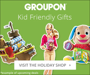 Groupon Holiday Shop: For Kids 300x250