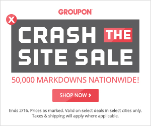 Crash The Site Sale