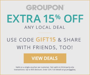 15% off one Local Deal Code: GIFT15