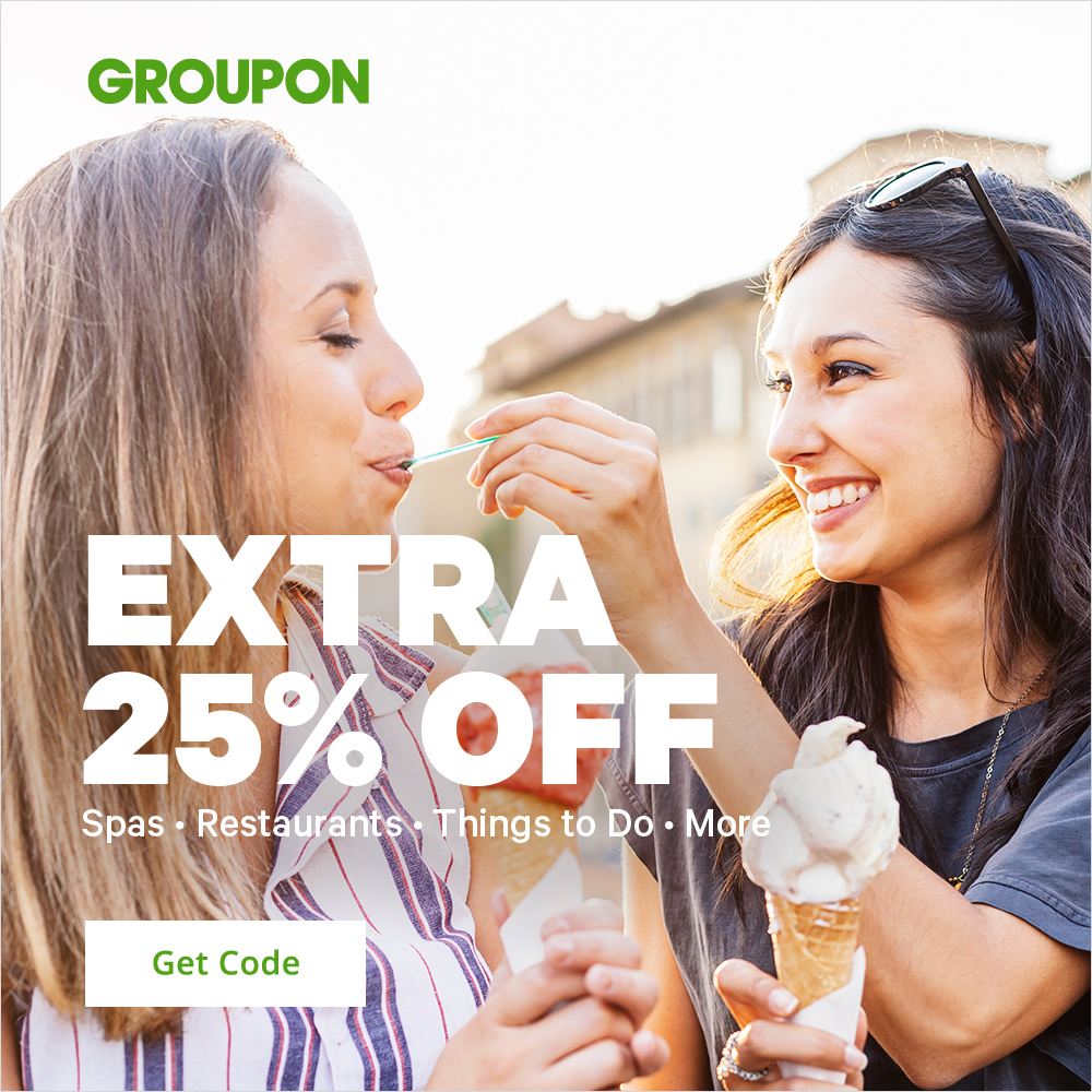 5/24 - 5/25 Extra 25% Off Local - Spas, Restaurants, Things to Do & More; Promo Code: EXTRA25