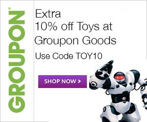 11/7-11/8 10% off Toys at Groupon Goods with code: TOY10