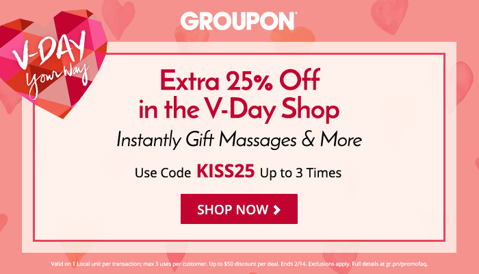25% off V-Day Shop