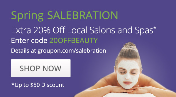 Pamper Yourself With 20% Off Groupon Local Spa and Salon Deals