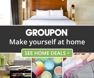 Groupon Home & Garden Deals 300x250
