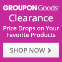 Groupon Goods Clearance 125x125