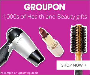 Groupon Holiday: Health & Beauty 300x250