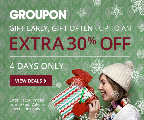 Gift Early, Gift Often - Up to an extra 30% off Sale!