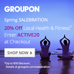 20% off Health & Fitness Deals with code ACTIVE20