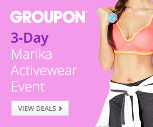 8/18-8/24 Save Up to 60% Off Marika Activewear at Groupon Goods