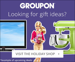 Groupon Holiday Shop 300x250
