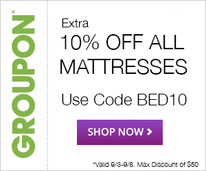 9/3-9/8 10% off All Mattresses