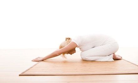 Five or Ten Drop-In Yoga Classes at Mudra Yoga Studio (Up to 43% Off)