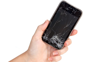 Repairs for an iPhone, iPad, iPod, or Samsung Device by CellzRepair (67% Off). Two Options Available.