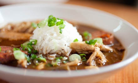 $12 for $20 Worth of Cajun Cuisine at Jazzy Fat's Cajun Classics