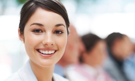 Dental Exam and Whitening  Kit at Destiny Dental Implant Center            (Up to 89% Off)