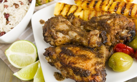 Caribbean-American Food at Steam House Restaurant & Lounge (Up to 51% Off). Two Options Available.