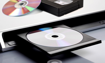 Tape-to-DVD Transfers for One, Three, or Five Videos up to Two Hours at Video Transfer Service (Up to 63% Off)