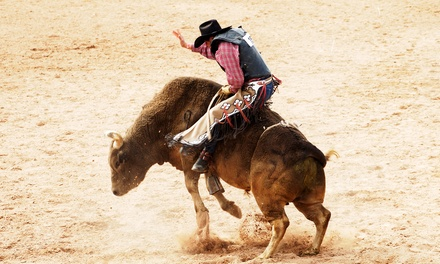 One ticket to Professional Rough Stock Series Rodeo Event at Veterans Memorial Coliseum on September 27 (Up to 38% Off)