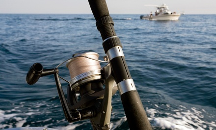 Half-Day Fishing Trip for Two from Sally T Fishing (50% Off)