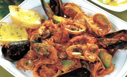 $25 for $ Worth of Upscale Italian Dinner Fare for Two or More at Ristorante Pavarotti in Reading