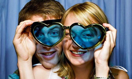 $429 for a Three-Hour Photo-Booth Rental Package from Lovely Day Photo Works         (64% Off)