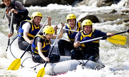 Half-Day Wild and Scenic Rafting Trip with Wetsuits for Two, Four, or Six from A1 Wildwater Rafting (32% Off)