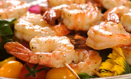 Cajun Cuisine at Vetavia's Cajun Cafe and Bar (Up to 47% Off). Two Options Available.