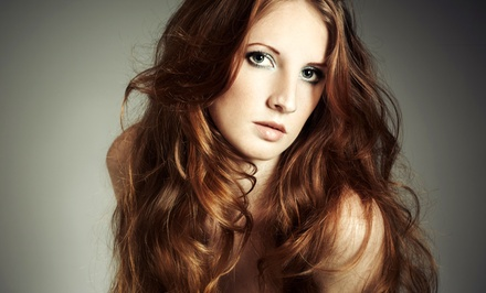 $25 for a Haircut, Deep-Conditioning Treatment, and Style at The Apprentice Salon ($50 Value)