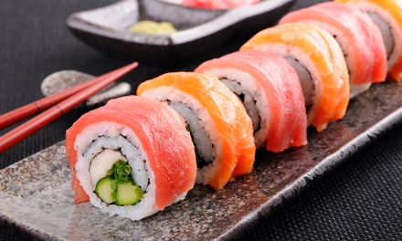 Dine-In or Takeout Sushi and Shabu-Shabu at Akai Ryu Shabu Sushi (Up to 75% Off)