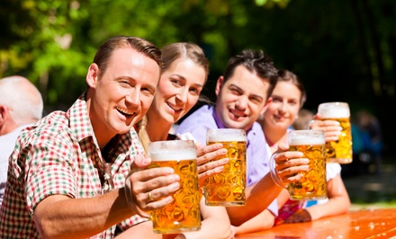 Admission for Two, Four, or Six to Charleston Oktoberfest, September 19 (Up to 50% Off)