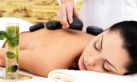 60-Minute Hot-Stone Aromatherapy Massage with Optional Anti-Aging Collagen Facial at Kits Spa (Up to 56% Off)
