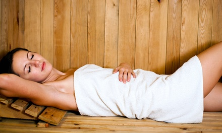 Swedish or Deep-Tissue Massage and Sauna Session at Inspired Thru Nature (Up to 56% Off). Five Options Available.