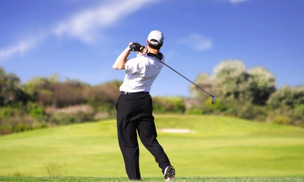 $21 for an 18-Hole Round of Golf for Two at Sterling Golf and Swim Club ($50 Value)
