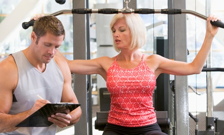 One- or Two-Month Gym Membership with Personal Training Sessions at Get Fit Health and Fitness (Up to 90% Off)