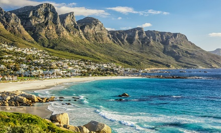 groupon daily deal - ✈ 6-Day South Africa Vacation and Safari with Airfare. Price per Person Based on Double Occupancy.