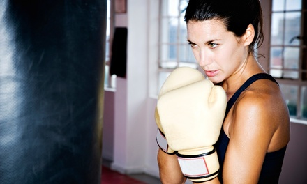10 or 20 Drop-In Boot Camp, Boxercise, or Women's Only Classes at Gideon Boxing Academy (Up to 84% Off)