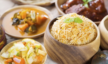 Indian and Bangladeshi Cuisine at Prominent Sweets & Cafe (Up to 50% Off). Four Options Available.