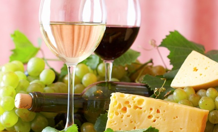 $20 for a Wine Tasting for Two with Cheese Platter and Bottle of Wine at Little Italy Wines ($40 Value)