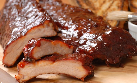 Southern-Style Barbecue at We're All About It BBQ (50% Off). Two Options Available.