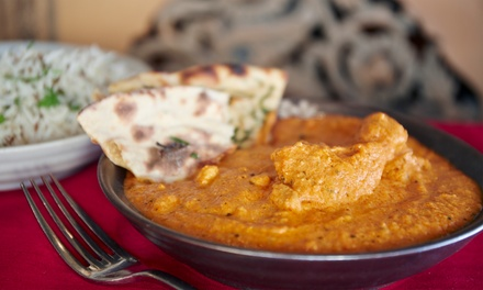 Indian Cuisine for Two or Four at Saaz Restaurant & Lounge (40% Off)